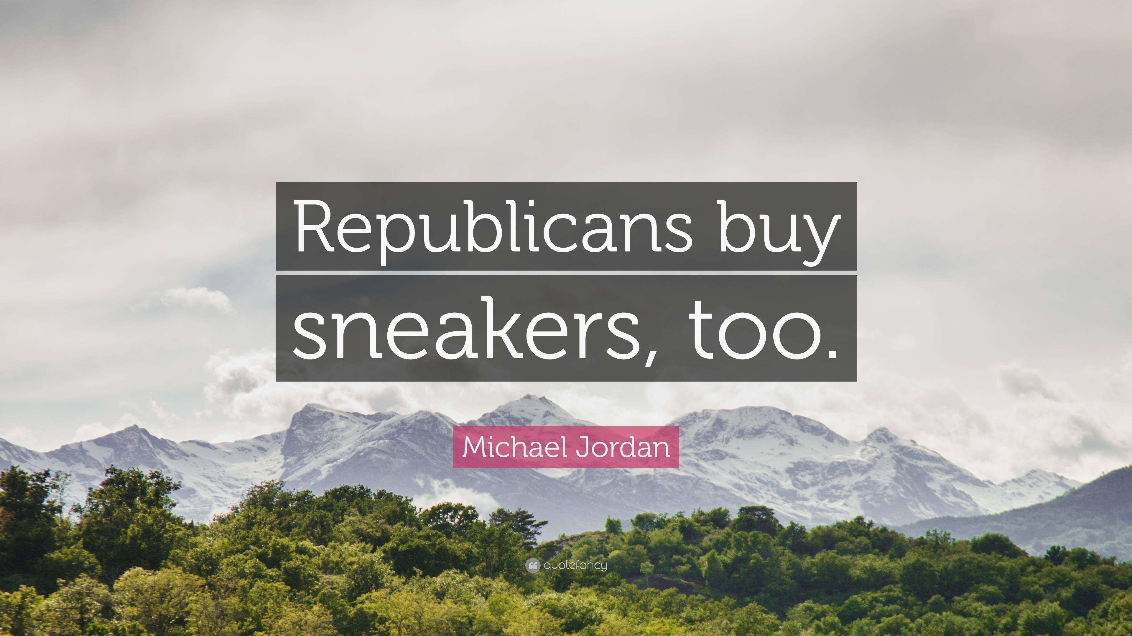 michael jordan republicans buy sneakers to
