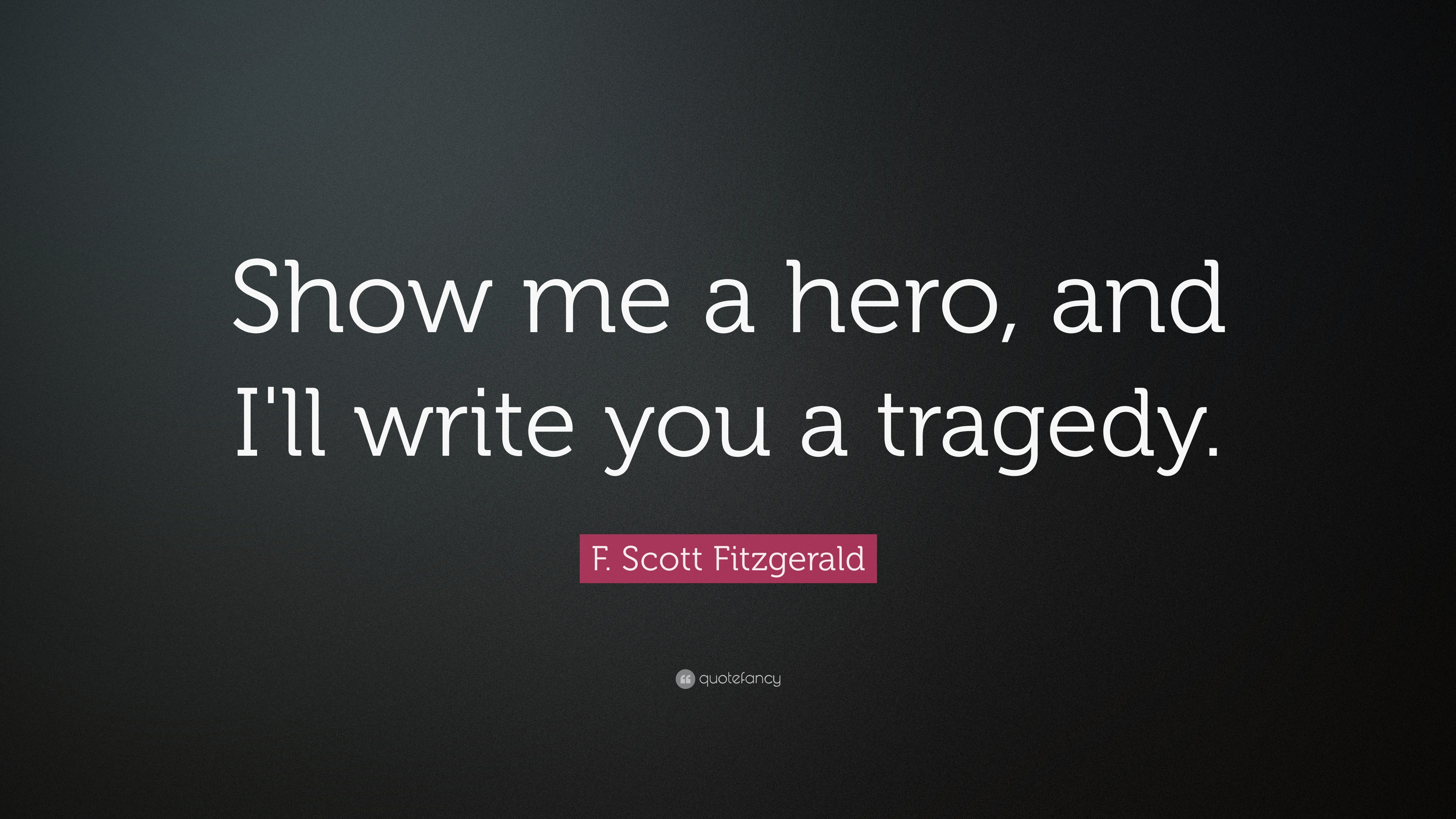 How to write a tragedy