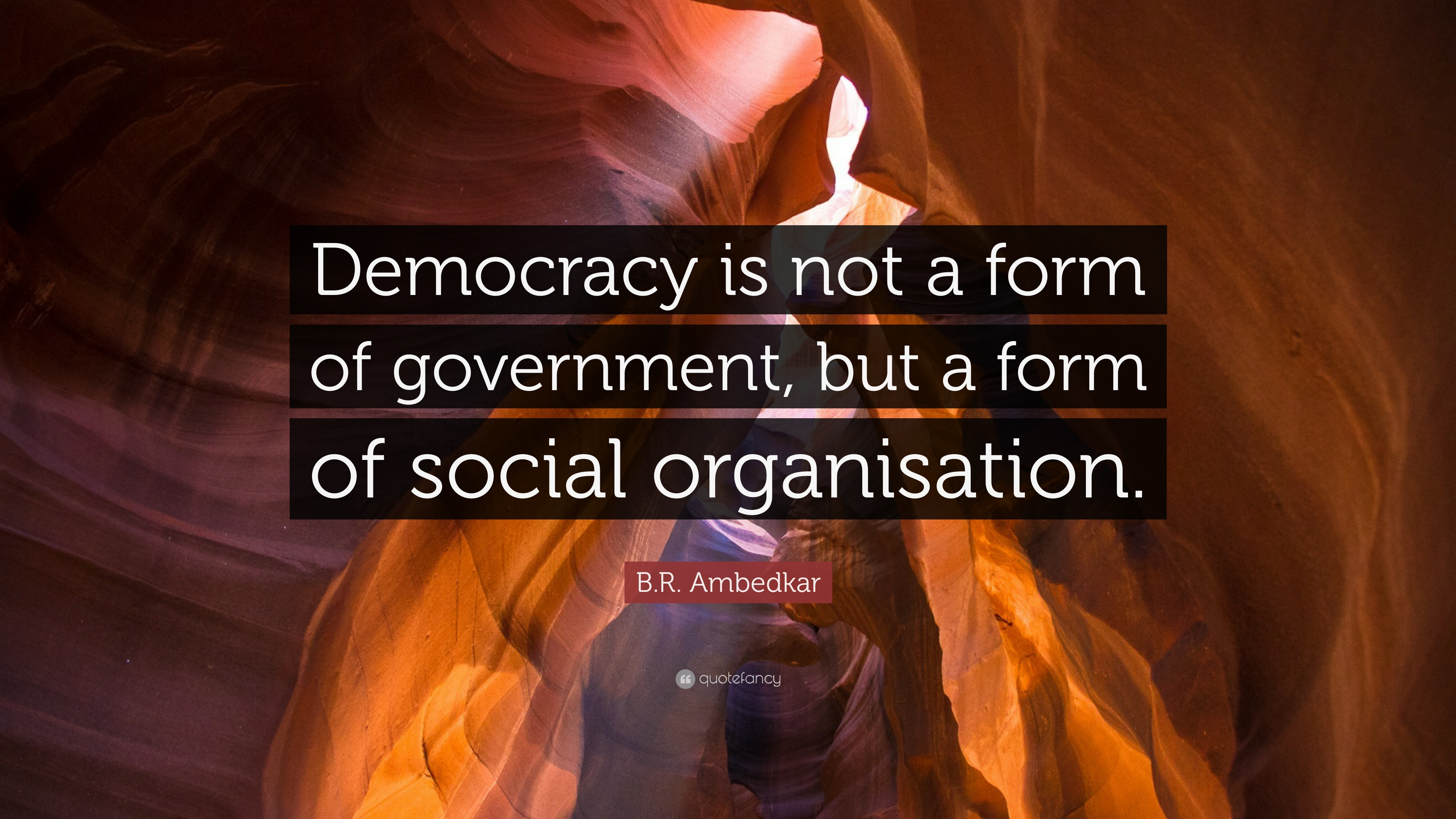 Democracy as a form of government