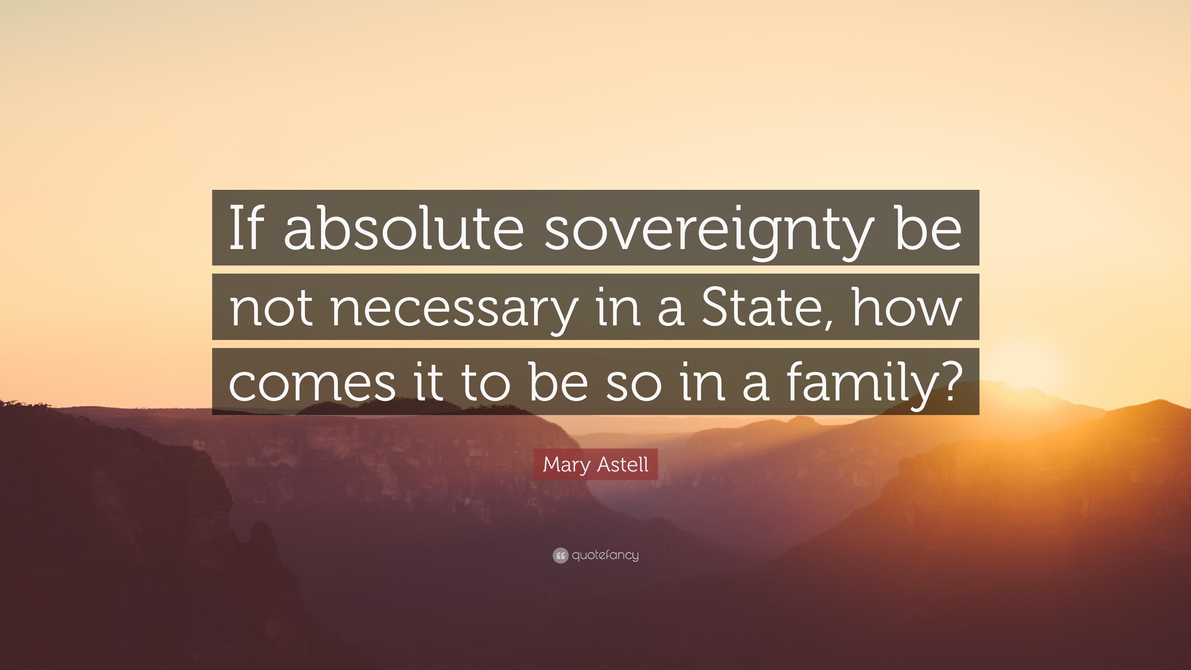 absolute sovereignty