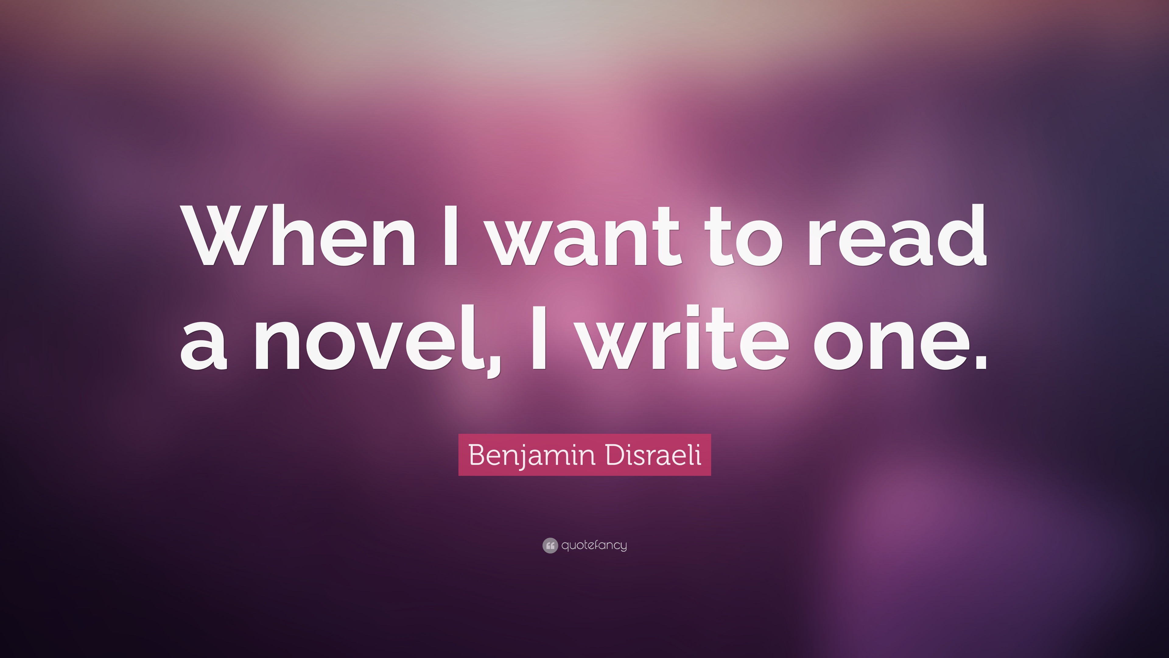 I want to write a novel