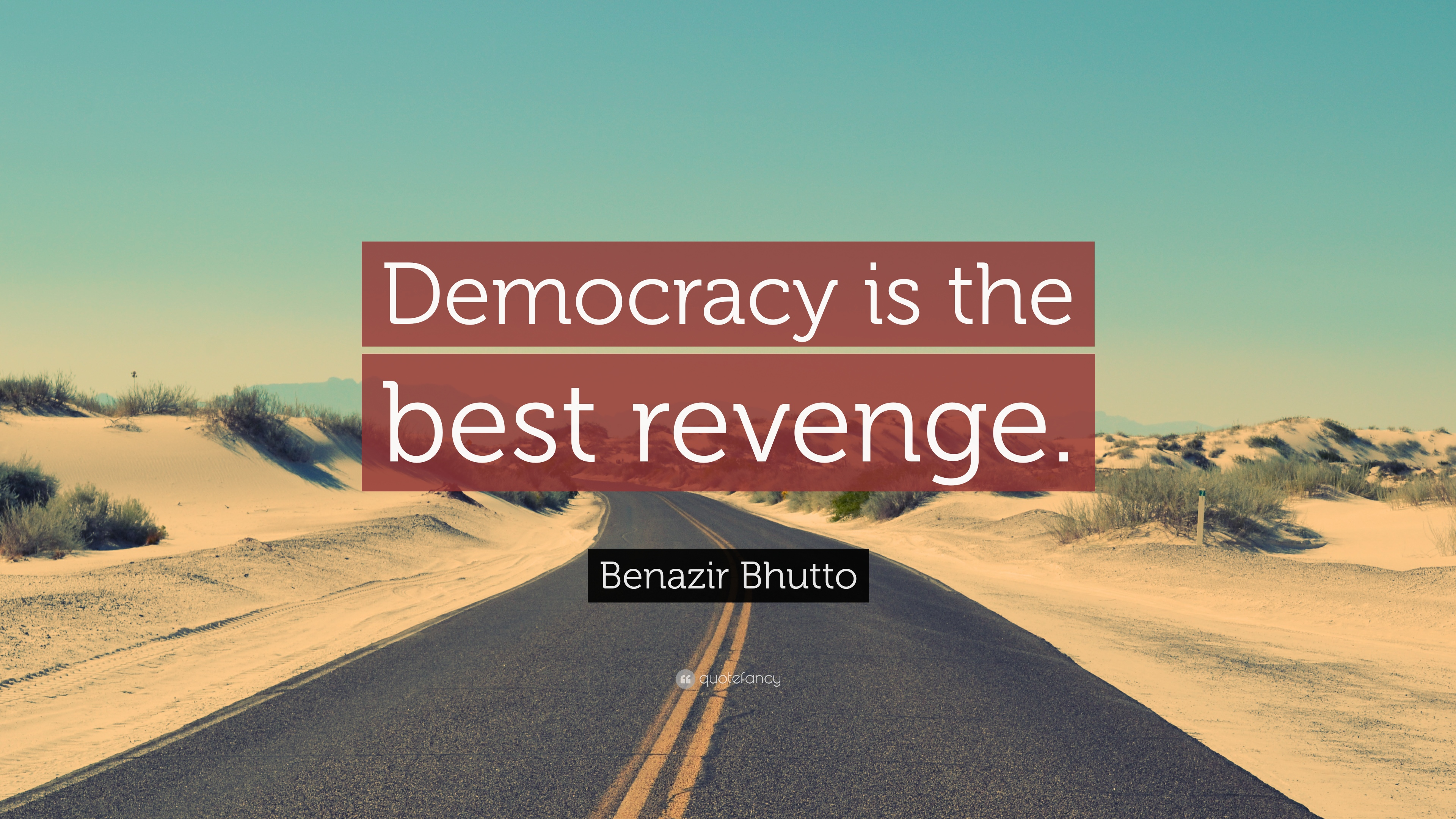 """democracy is the best revenge """"controlled"""" democracy is the best revenge mohammad younas – may 22, 2013 