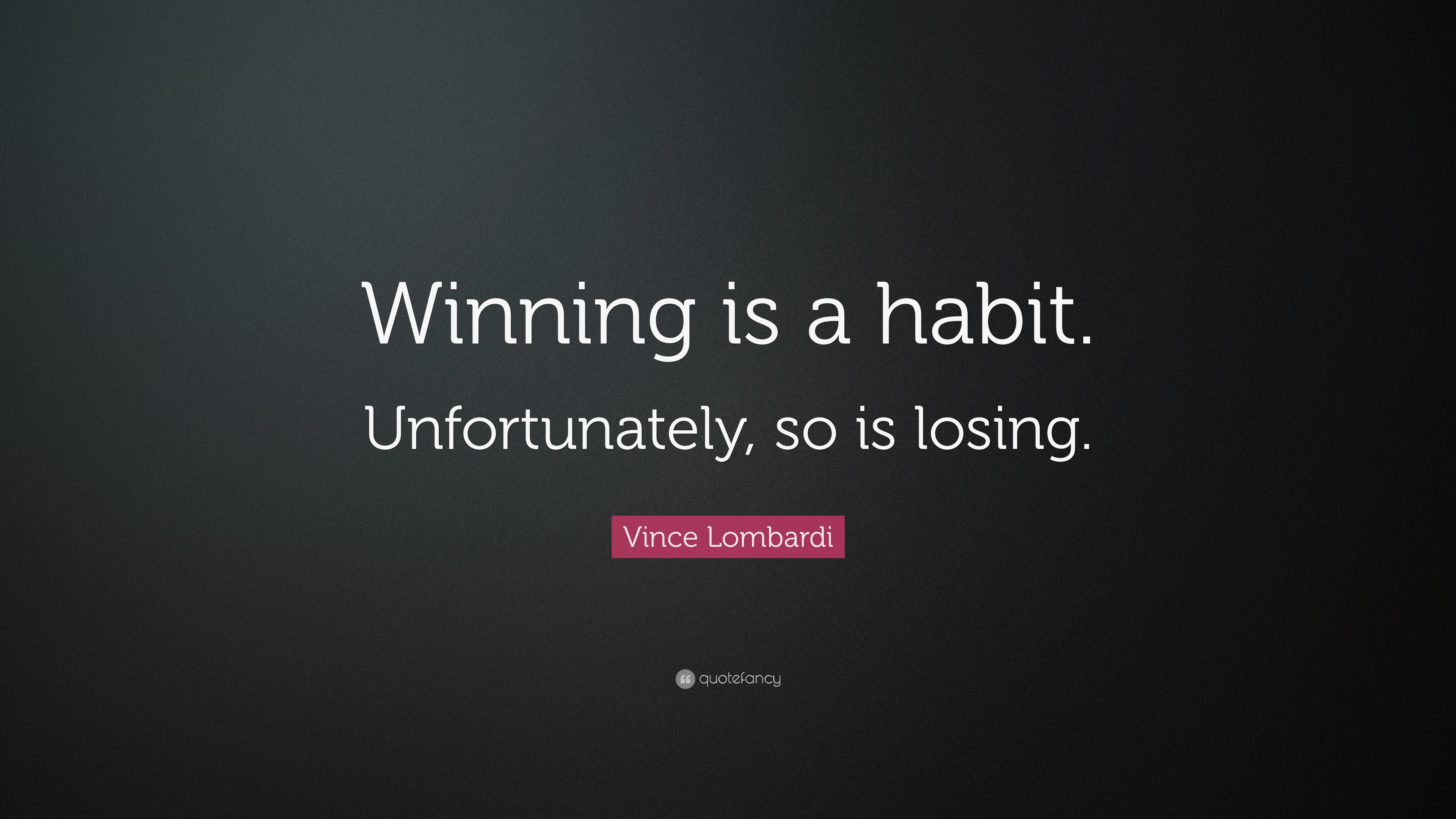 Vince Lombardi Quotes Winning