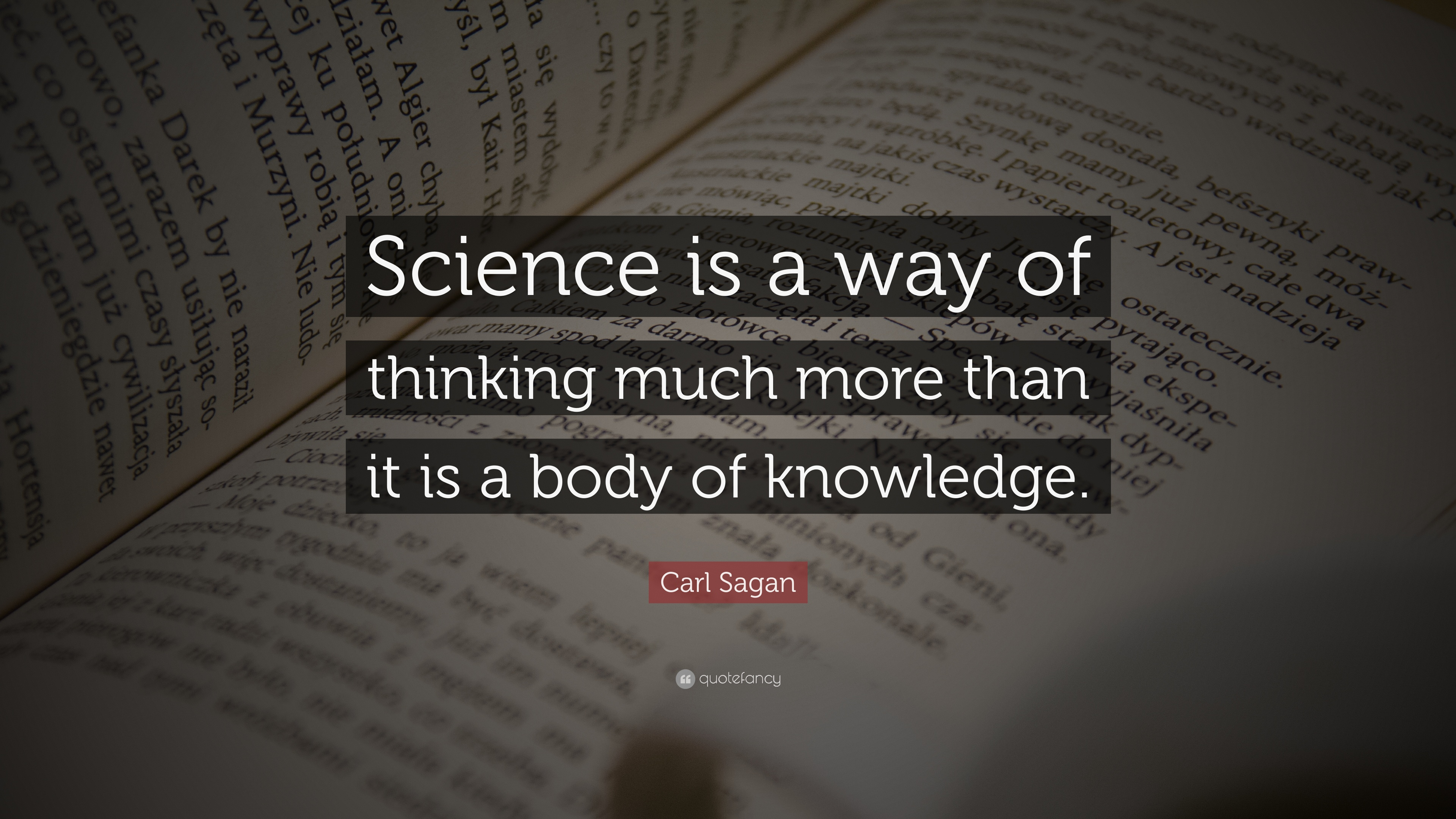 the scientific way of thinking Rather than accepting things the way they are or the way they are told to them,  children who are used to the scientific way of thinking will.