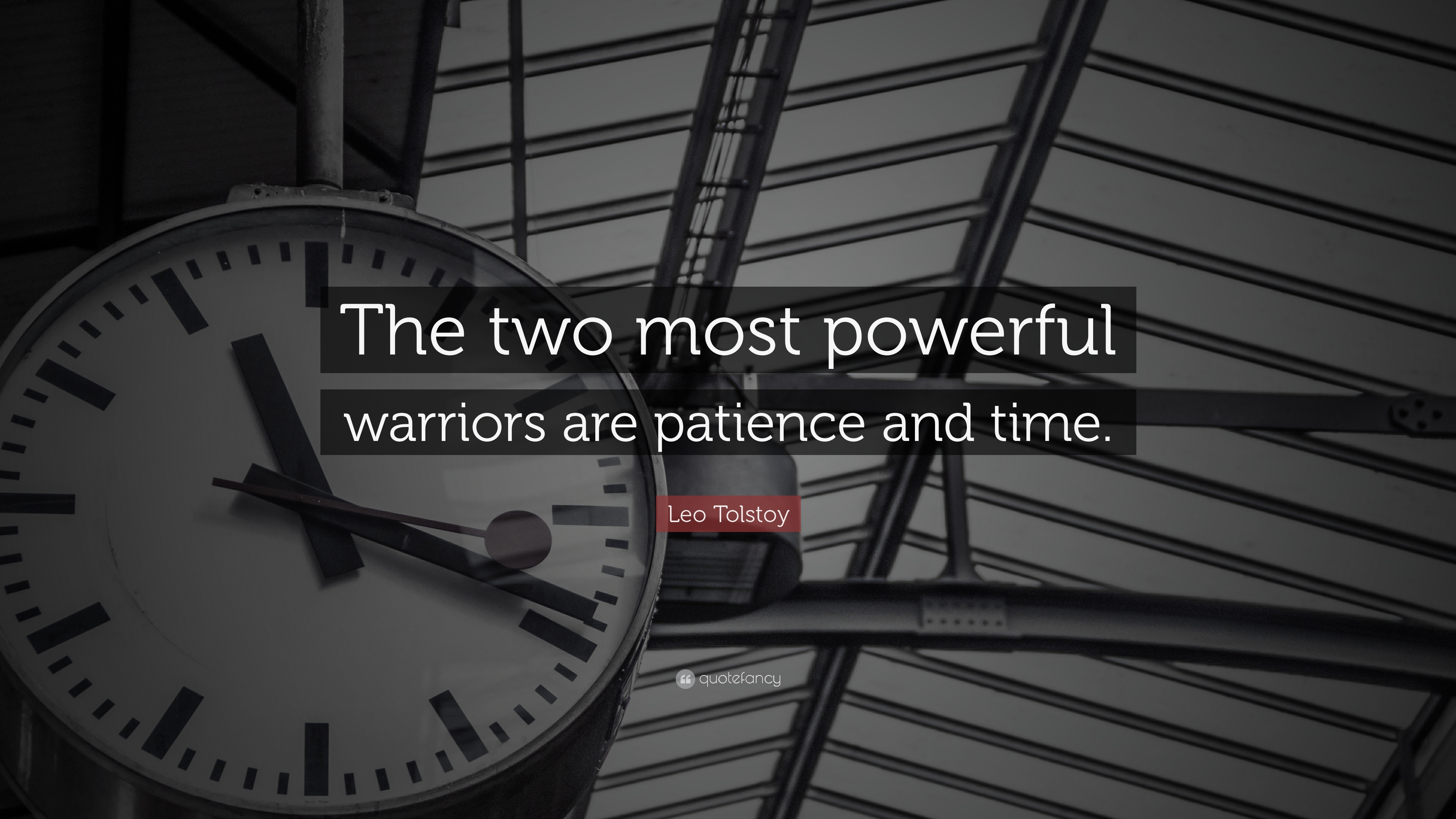 Patience Quotes: U201cThe Two Most Powerful Warriors Are Patience And Time.u201d U2014