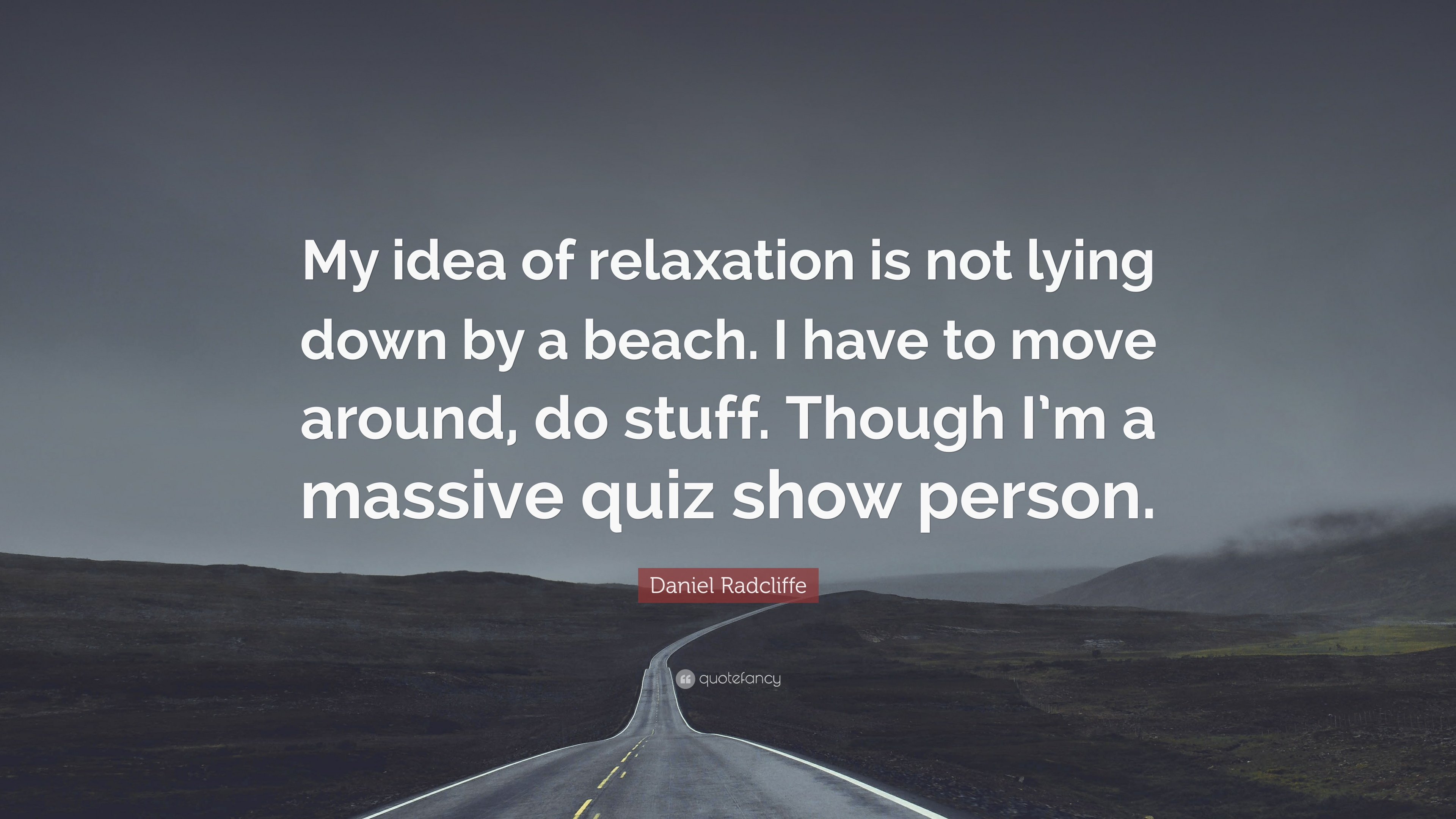 relaxation quiz