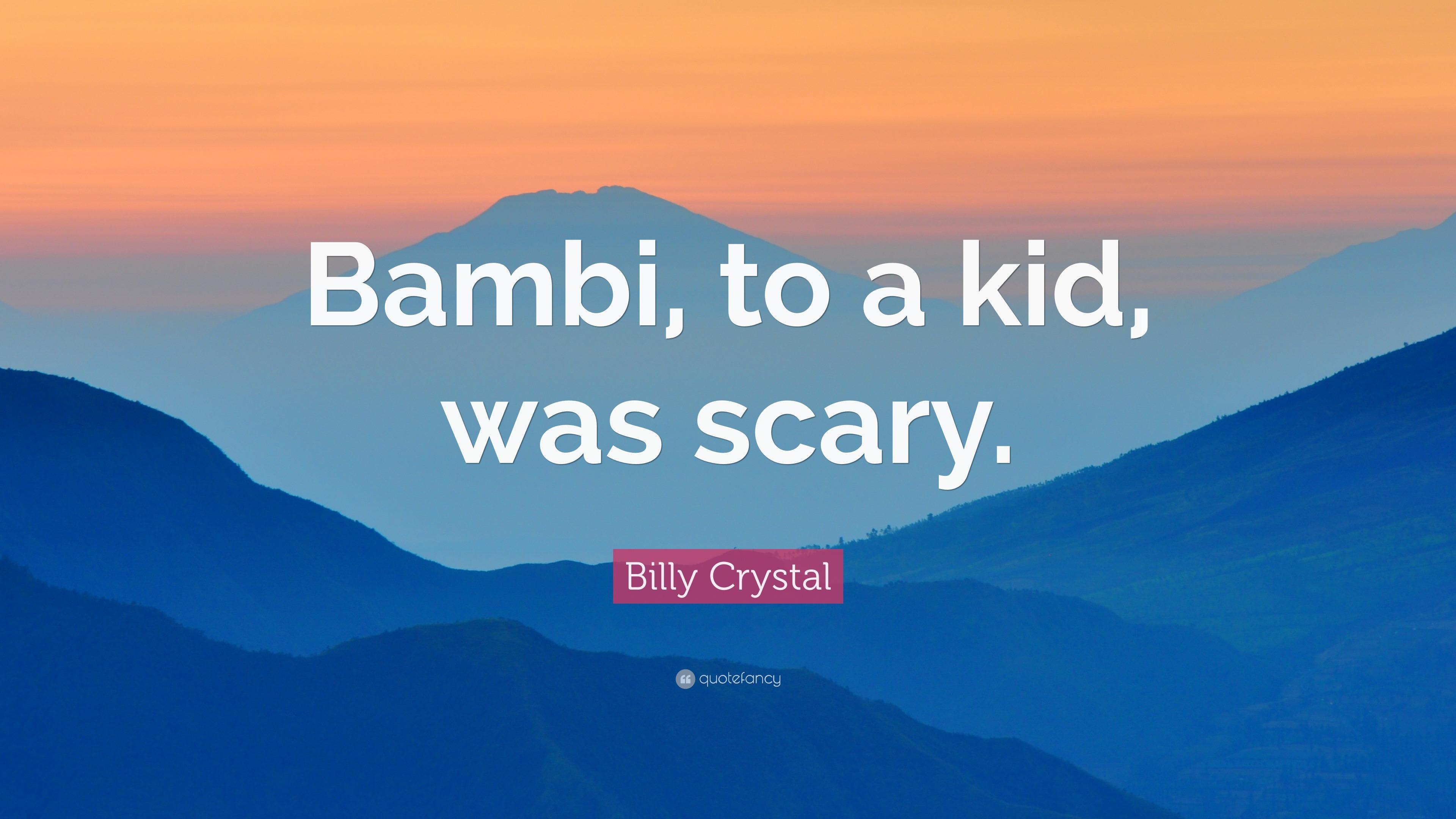 scary bambi