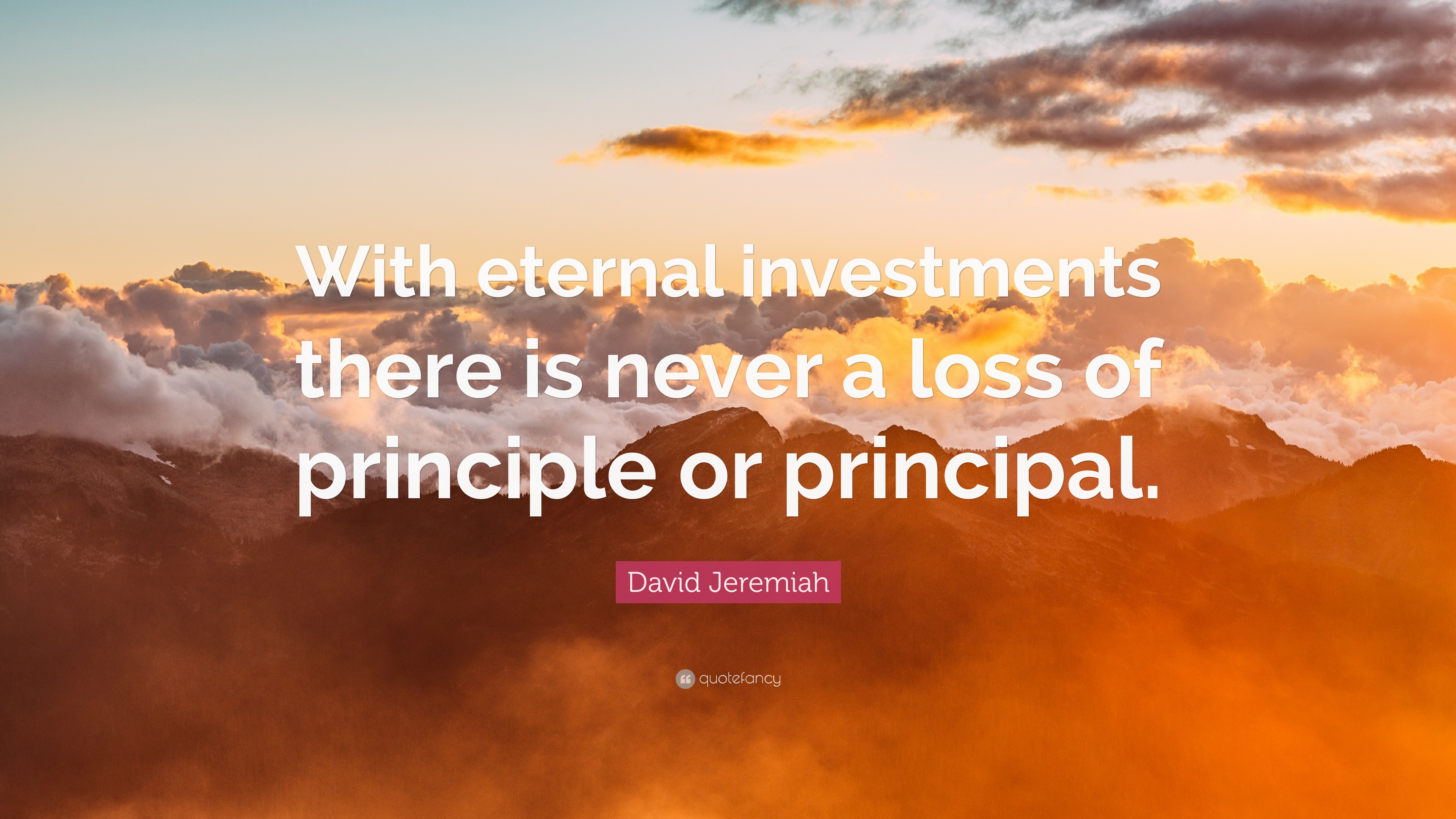 Eternal investments milestone based investment consulting