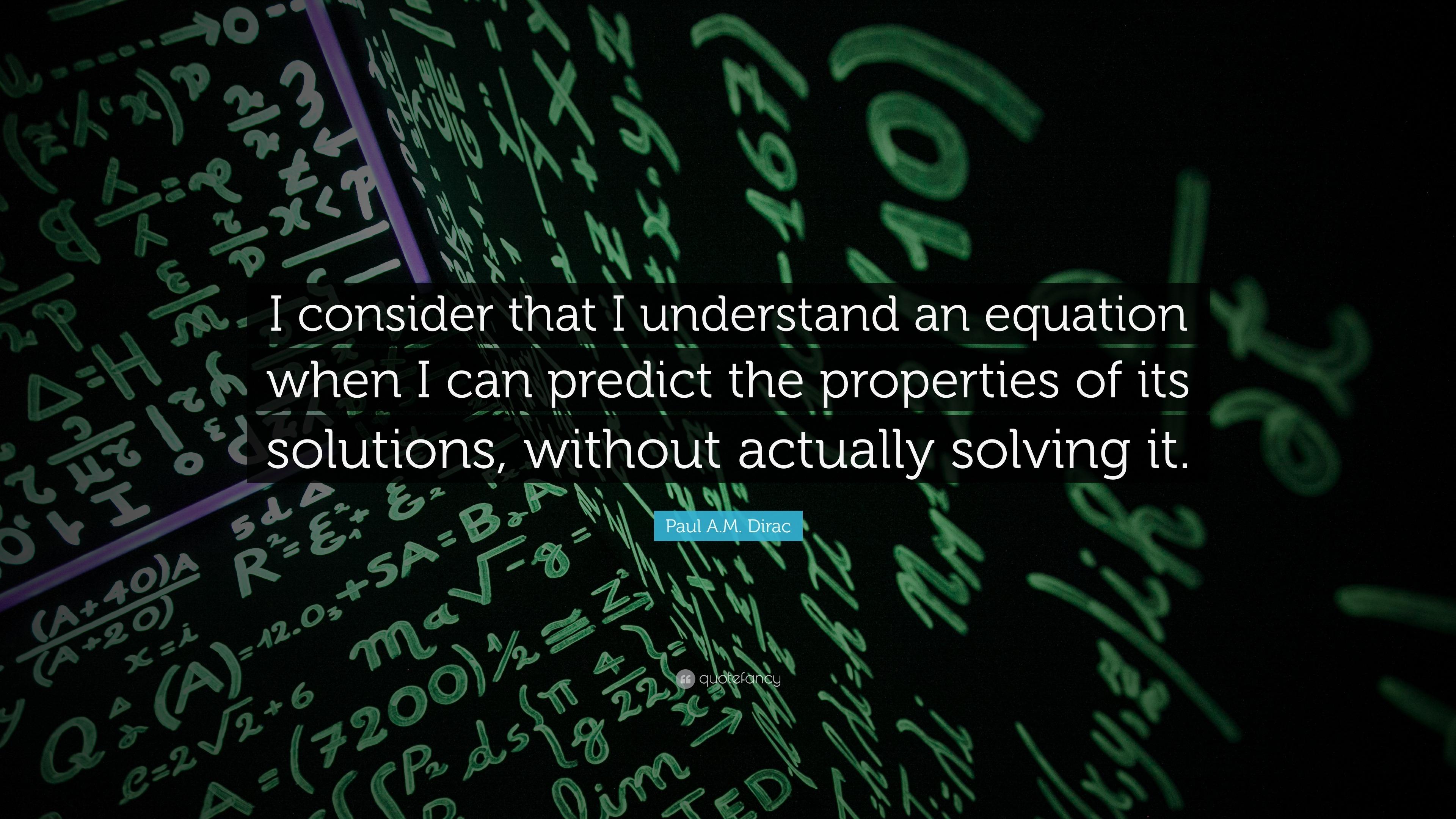 Paul A M  Dirac Quotes (31 wallpapers) - Quotefancy