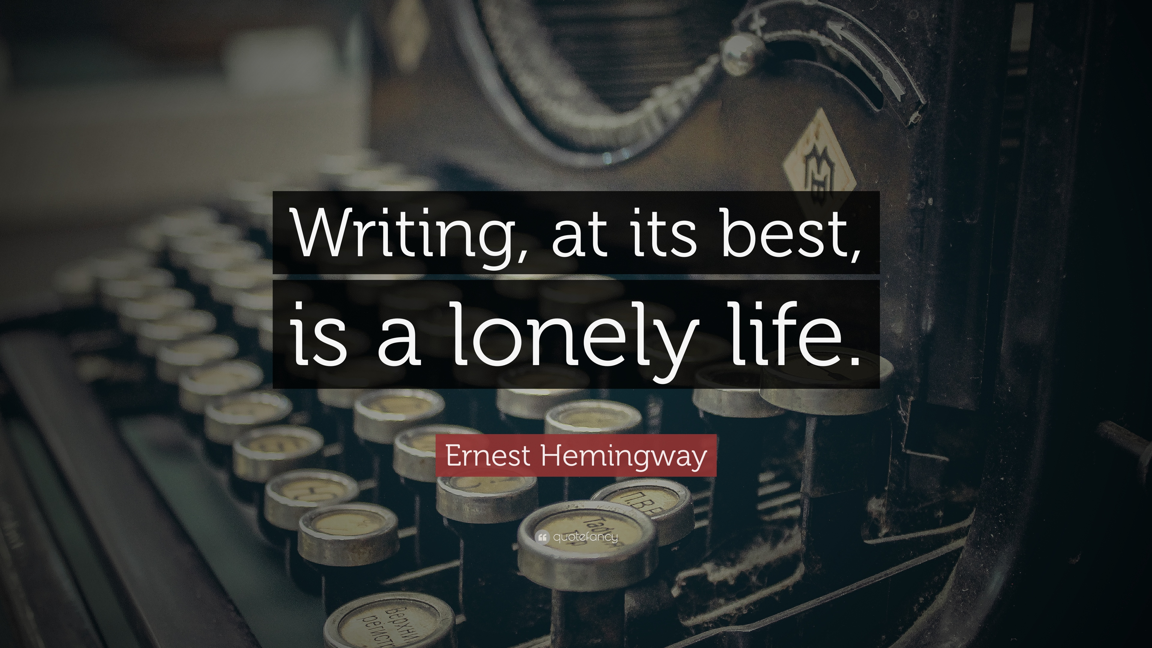 hemingways exploration of loneliness essay Internet bookwatch volume  every writer from the hemingways of the world to the newest  but as the last of his kind he is beset by depression and loneliness.