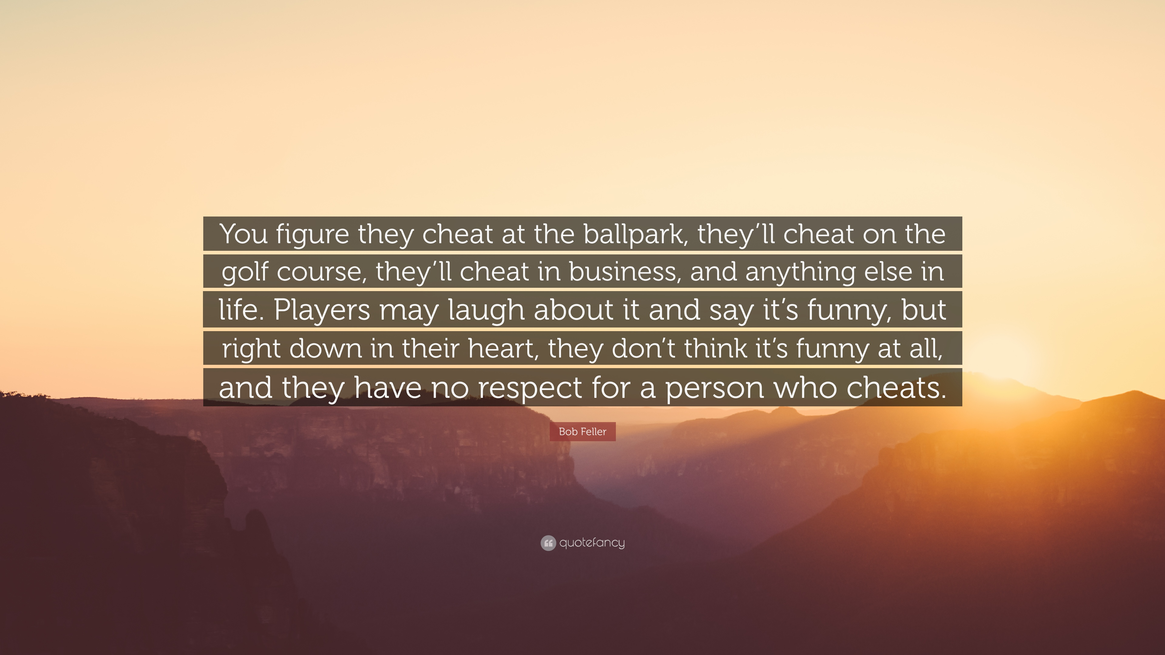 About cheaters players quotes and 70 Best