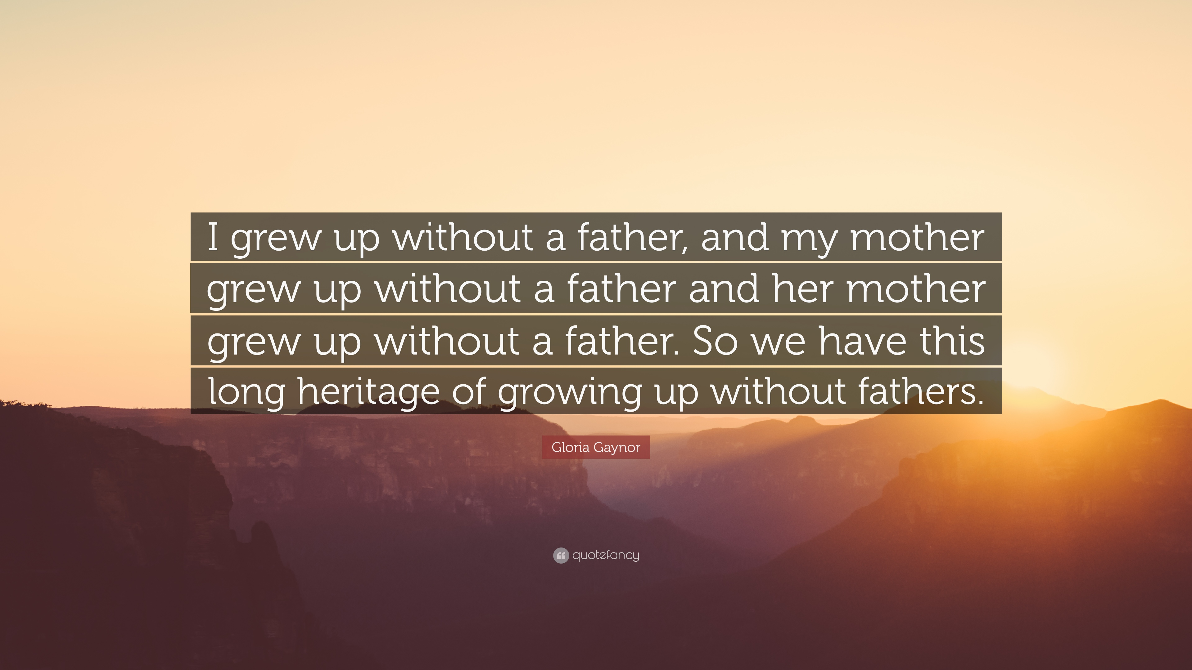 growing up without a dad essay I to am a young man that has grown up not knowing his father and i think that the psychological effects of growing up without a father is something that is.