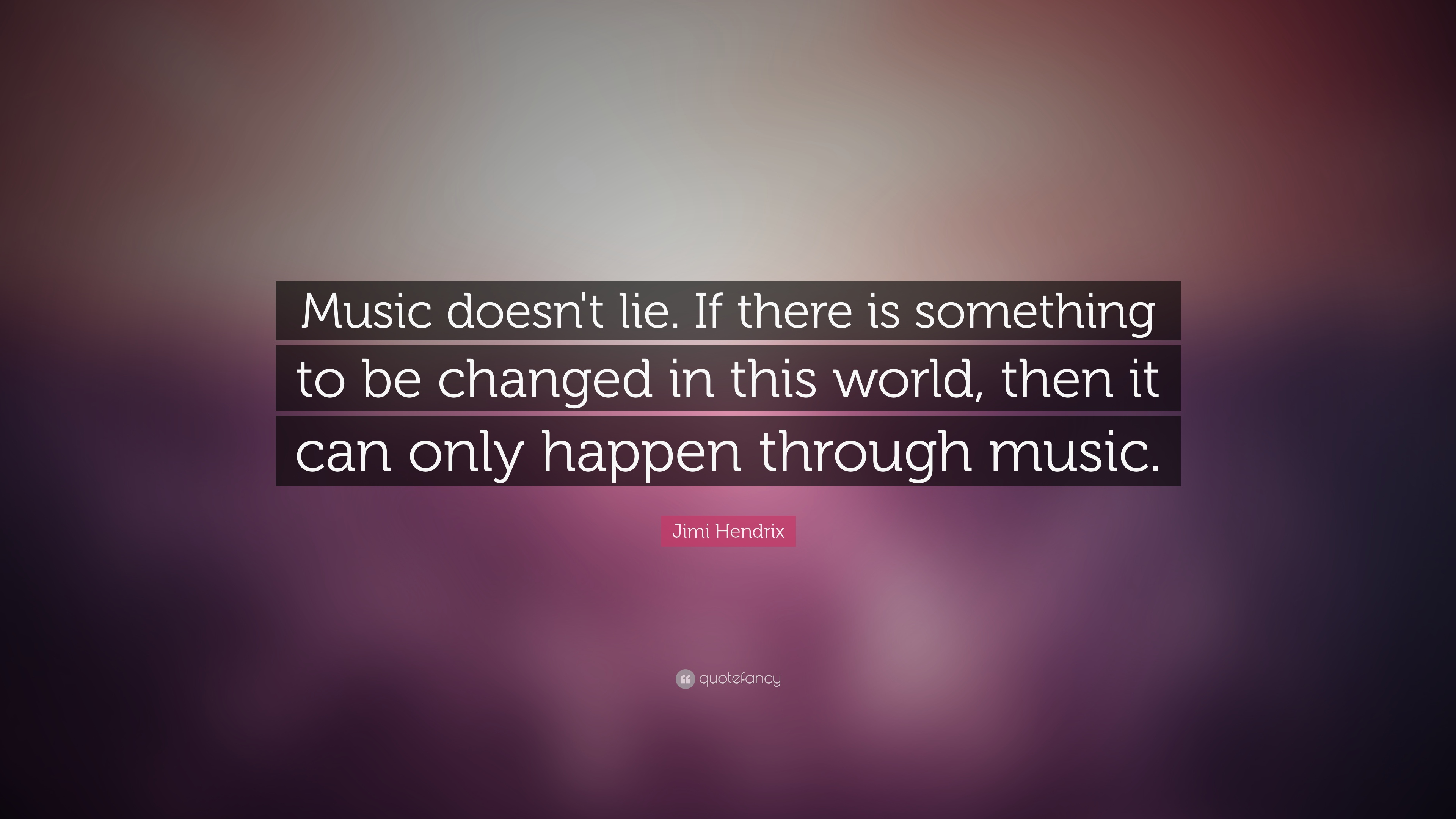 Music quotes music doesnt lie if there is something to be