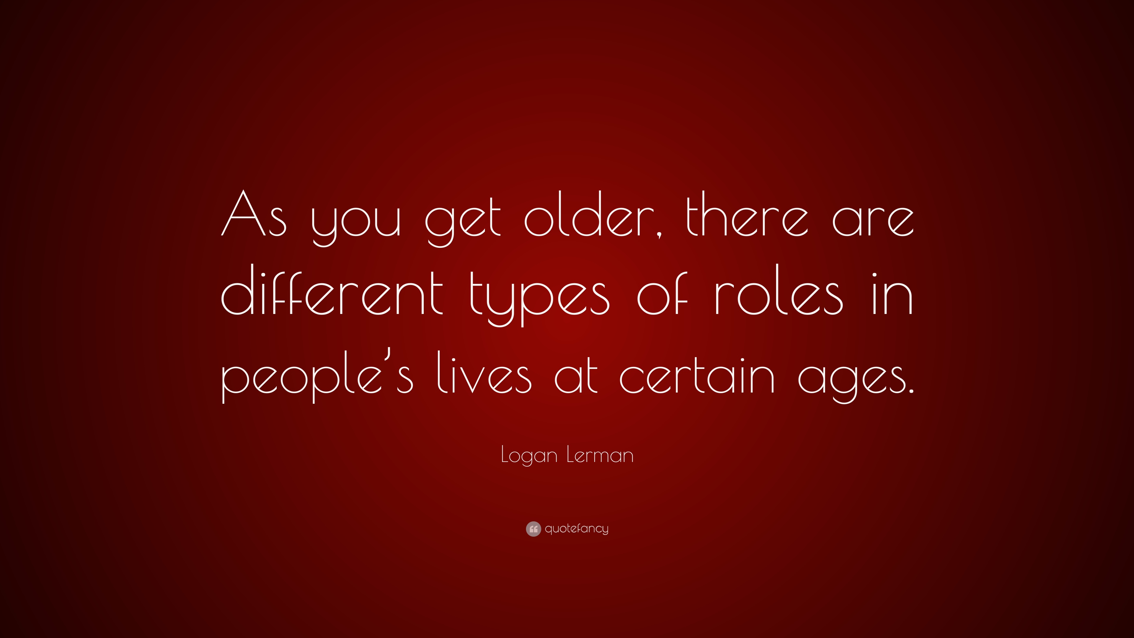 different roles of a person in life
