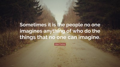 Alan Turing Quoes