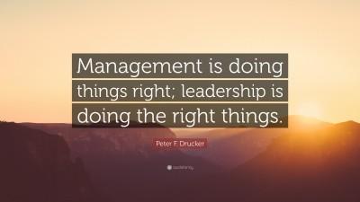 Peter F. Drucker Quotes