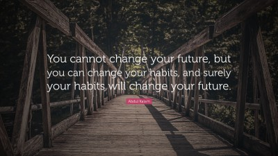 Habit Quotes