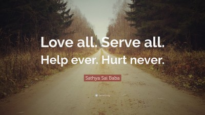 Sathya Sai Baba Quotes (100 wallpapers) - Quotefancy